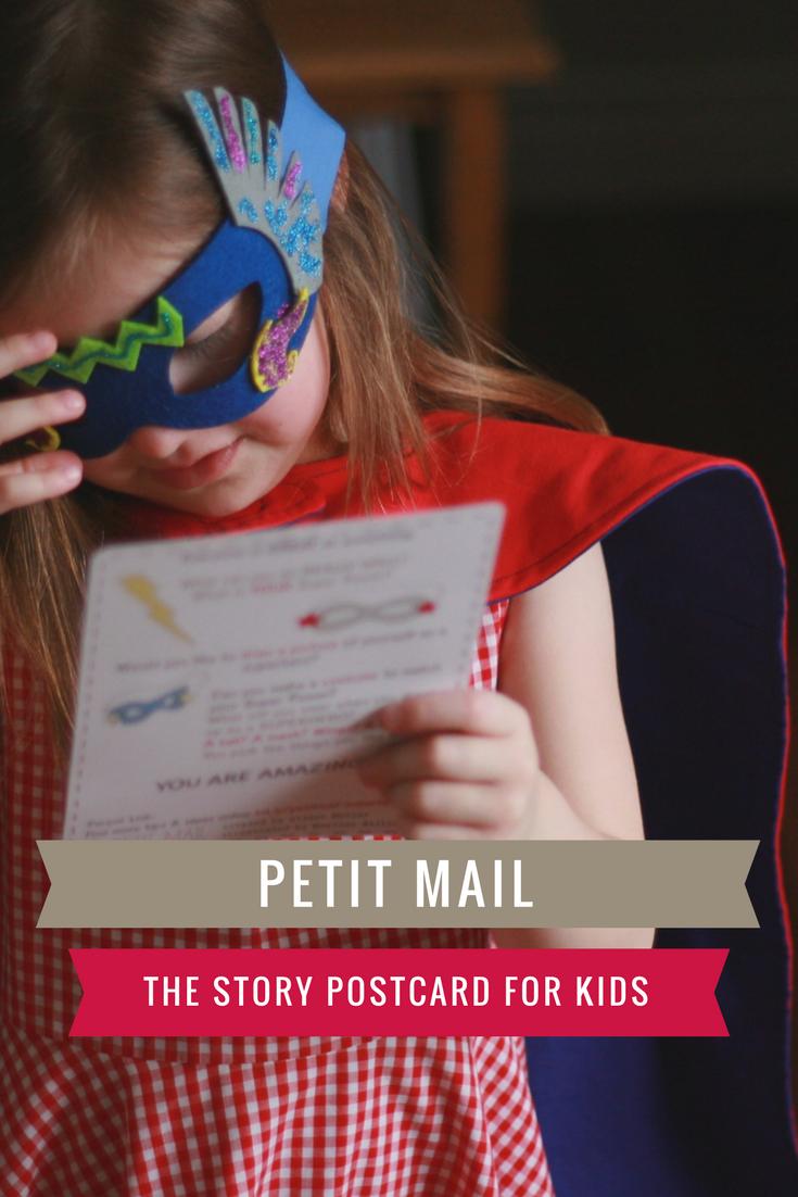 Petit Mail Story Postcard