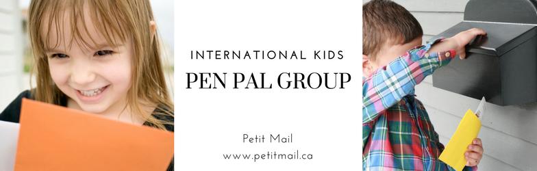 Kids Pen Pal Cover