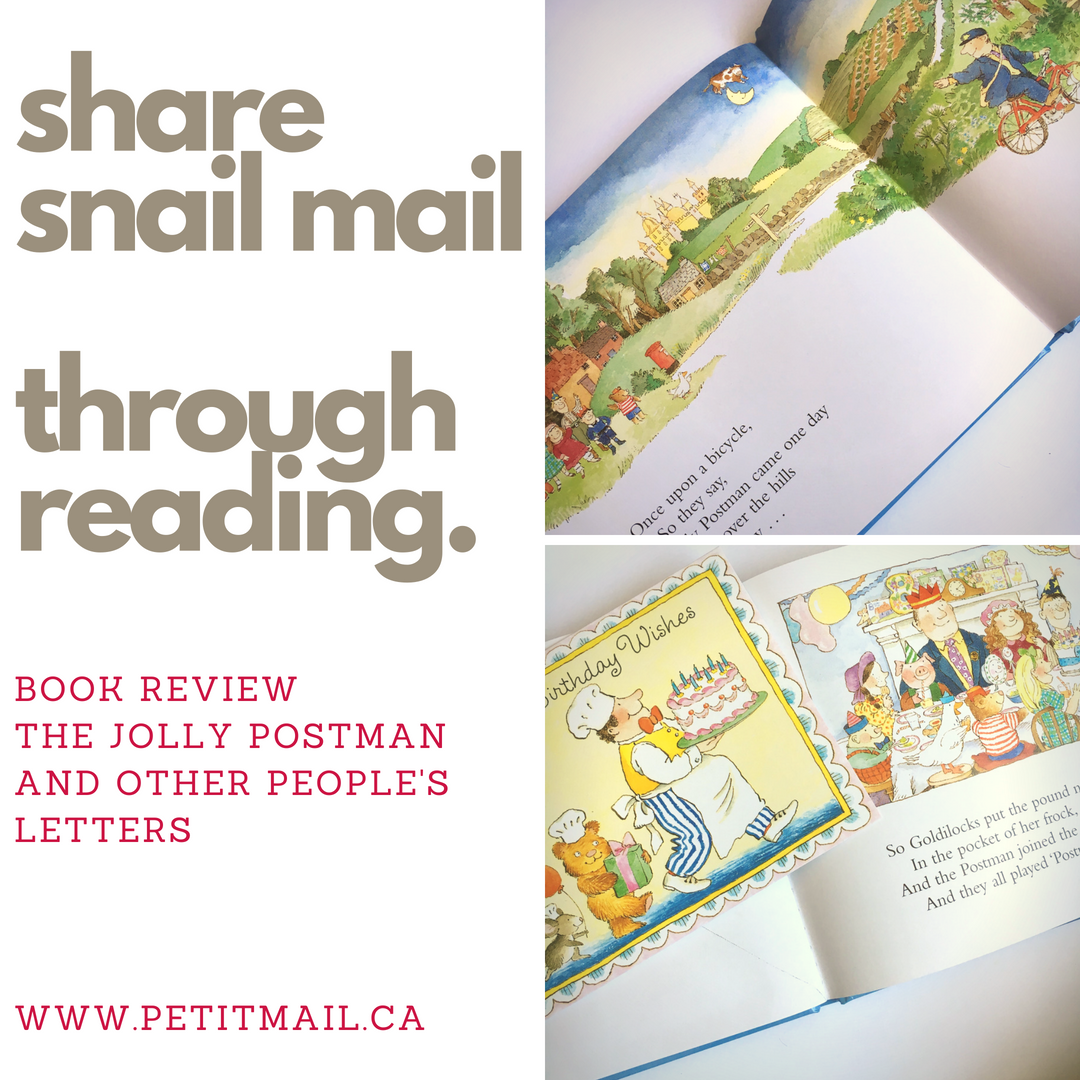 The Jolly Postman and Other People's Letters Children's Book Review
