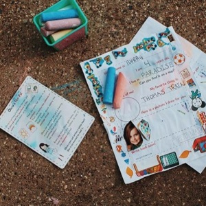 Pen Pal Letter Template for Kids